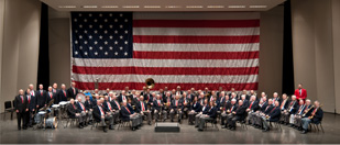 Iowa Military Veterans Band Photo